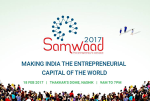 Samwaad is an event for Entrepreneurs